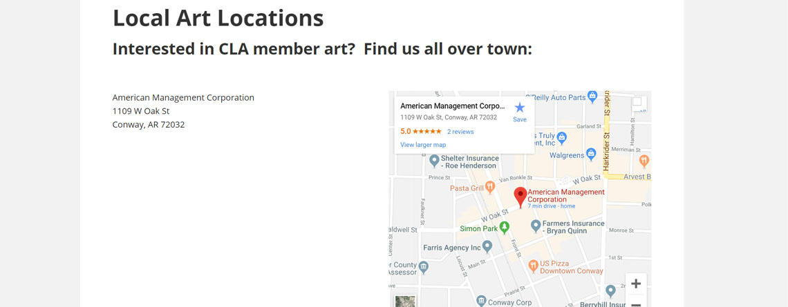 Local Art Locations